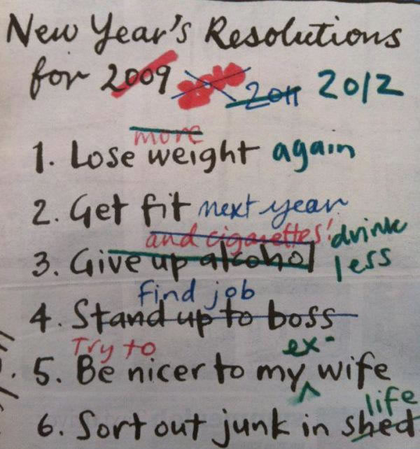 10 New Year's Resolutions for the Auto Mechanic