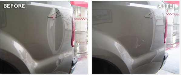 If The Dent Is Not Too Drastic A Do It Yourself Job Fairly Easy With Right Tools You Want Professional For An Affordable Price Then Look