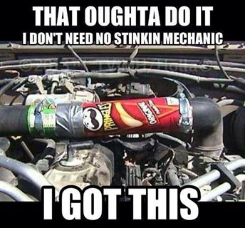 Who will win the facebook mechanic memes battle for Garage auto reparation soi meme
