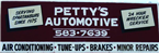 Petty's Automotive