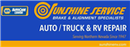 Sunshine Service Brake and Alignment