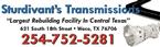 Sturdivants Transmission