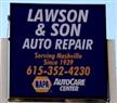 Lawson & Son Auto Repair