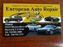 European Auto Repair