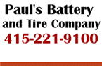 Pauls Battery & Tire Service