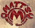 Matts Auto Service