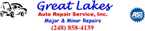 Great Lakes Auto Repair Service, Inc