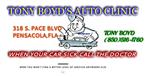 Tony Boyd's Auto Clinic