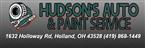 Hudson Automotive and Paint Service