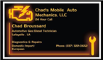 Chad's Mobile Auto Mechanics, LLC